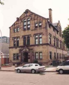 Parish Hall Building in 1993. Now a part of Allegheny Center Alliance Church