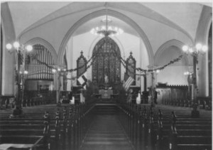 Interior of the Allegheny City (Pittsburgh's North Side) Nave